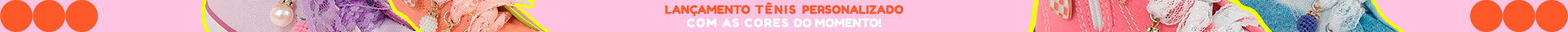 Banner tarja topo tênis