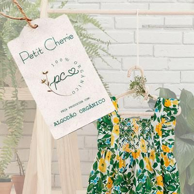 Nova coleção Petit Cherie em algodão 100% orgânico