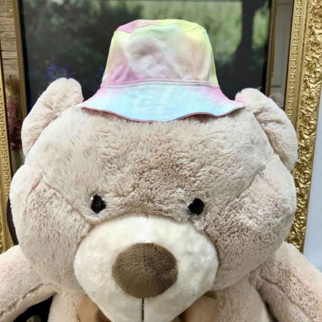 Chapéu Infantil de Tecido Tie Dye Neon Colors Modelo 1 Euro Baby