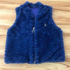 Colete Infantil Azul Petroleo Bugbee