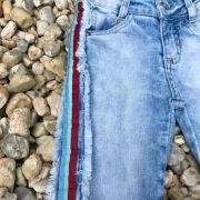 Conjunto Infantil Calça Jeans e Blusa Picnic Day Mon Sucré
