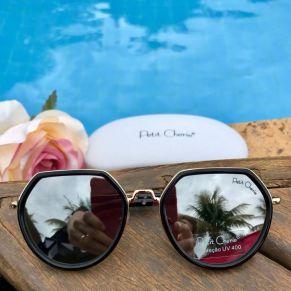 408c29fd7 Óculos Infantil Aviador Azul Piscina Degrade Lika Nene na Euro Baby Kids