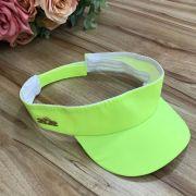 Viseira Infantil Neon Amarelo Fun Colors Yoyo